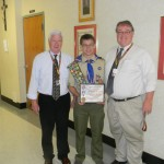 Christopher T. Rehrig Awarded Rank of Eagle Scout