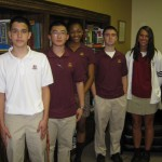 Gloucester Catholic Selects Students of Month