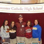Gloucester Catholic Students Announce Spring College Commitments