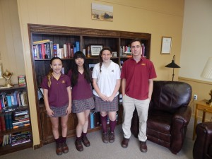Gloucester Catholic Announces Students of the Month