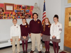Gloucester Catholic Selects October Students of the Month