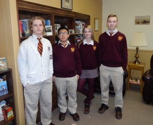 Gloucester Catholic Honors December Students of the Month