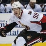 Former GC Hockey Star Buddy Robinson Scores First Goal for Ottawa Senators