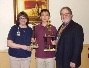 Gloucester Catholic Sophomore Vincent Li Ranks First in National Math Competition!