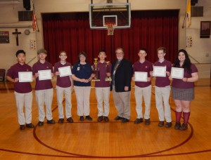Gloucester Catholic Students Are Among Local and National Winners of Mathematics Contests
