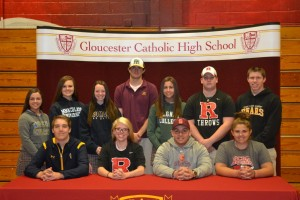 Eleven GC Athletes Announce College Choices for 2016-2017 School Year
