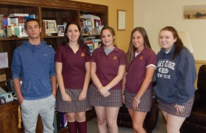 GCHS Students of the Month Are Announced