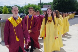 Gloucester Catholic Confers 128 Diplomas to Members of Class of 2016!