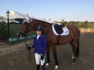 Prima Bonaventura Emerges as Top Equestrian Rider