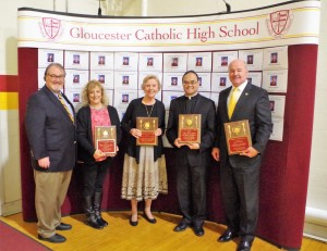 Alumni Association Honors Award Recipients During Communion Breakfast