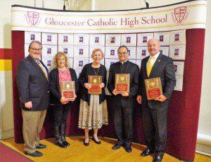 Alumni Association Honors Award Recipients During Communion Breakfast on November 20