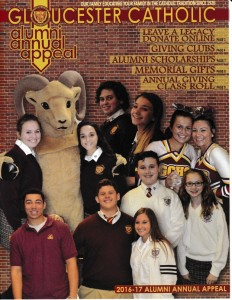 Donate to Gloucester Catholic's 2016-17 Annual Appeal Online!