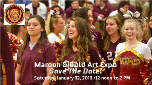 Join Your GC Family for Maroon & Gold Art Expo on Saturday, January 12th!