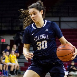 Villanova's Mary Gedaka was named Big East Rookie of the Week.