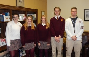 Gloucester Catholic Honors Students of the Month