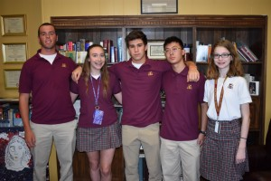 Gloucester Catholic Announces Students of the Month for March and April 2017