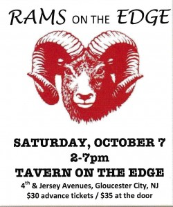 Save the Date: Rams on the Edge Set for Saturday, October 7