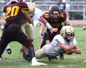 Rams Open Football Season With Thrilling Overtime Win Over Visiting New Egypt!