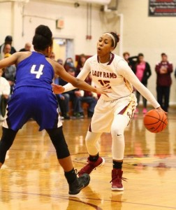 Junior Azana Baines Scores 1,000th Career Point in Win Over Triton