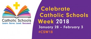 Catholic Schools Week Banner 2018