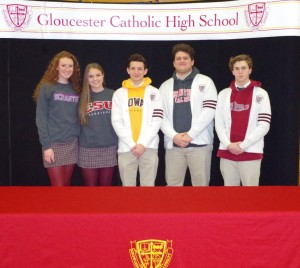 Gloucester Catholic Student Athletes Announce College Commitments!