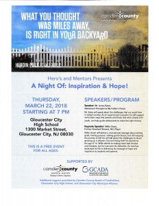 """Hero's and Mentors Presents """"A Night of Inspiration & Hope!"""" on March 22"""