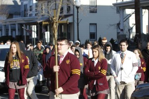 Gloucester Catholic Students Honor Victims of School Shooting in Florida