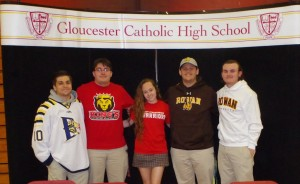 Gloucester Catholic Student-Athletes Announce College Commitments in Spring Ceremony