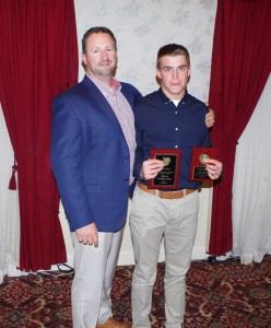 Sean Beers, Coaches Gedaka and Nolan Recognized During Annual Sports Banquet