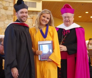 Megan McGowan Is Recipient of Bishop's Award During 2018 Commencement Exercises!