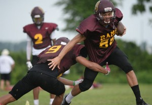 Gloucester Catholic Football Team Featured in South Jersey Times