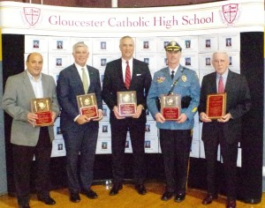 Alumni Association Honors Paul Kelley, Robert Iacovone, Sean McKenna, & Patrick Harker During Communion Breakfast on Nov. 18th