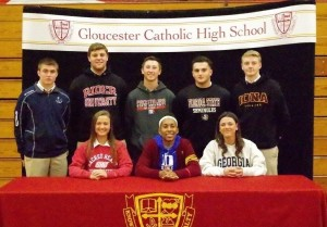 Gloucester Catholic Announces Fall 2018 College Athletic Commitments