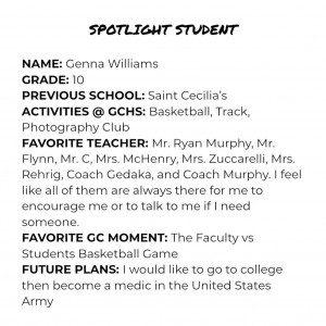 Spotlight _ Genna Williams