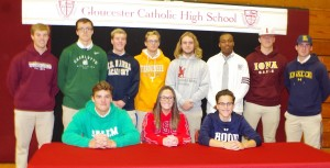 Gloucester Catholic Student-Athletes Announce 2020-21 College Commitments!