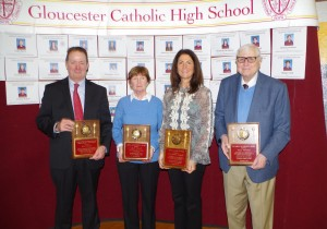 Joan Nolan, Dr. Anthony Silvestri, Lysa Meduri-Leiponis, and Hon. William Golden Honored by GC Alumni Association