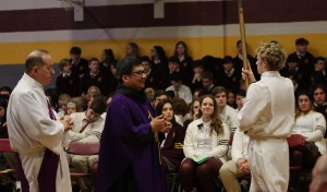 All-School Liturgy to Begin Gloucester Catholic's Easter Vacation