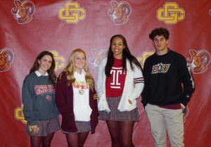 Gloucester Catholic Student Athletes Announce College Commitments